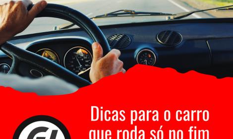 Tem carro com seguro mas só roda no fim de semana?